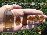 Citrine NATURAL Standing Point Generator