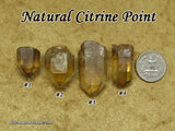 Citrine NATURAL point