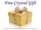 A Free Crystal Gift with Purchase — Turritella Agate