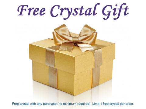 A Free Crystal Gift with Purchase