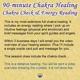 Chakra Healing Session plus Energy Reading