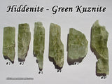 Hiddenite Green Kunzite