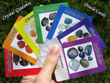 Tarot Deck Crystal Guidance Oracle Cards - 45 Beautiful Cards