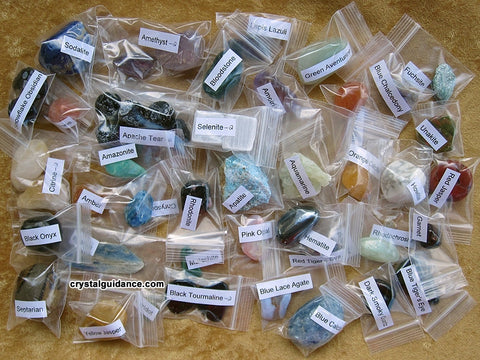 *Individual Labels for Crystal Orders of 6 or more crystals - Packaging Fee
