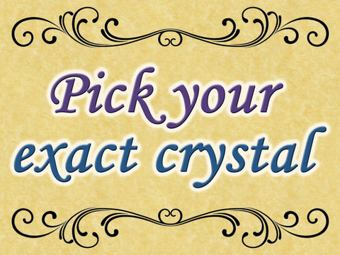 *Pick Your Exact Crystal: Add-on Upgrade