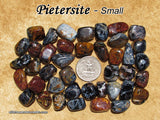 Pietersite tumbled stone — multiple sizes available
