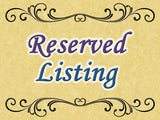 Reserved Listing for Sherri Zwetzig — March 2020