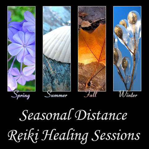 SEASONAL SPECIAL ~ Full Chakra Balancing Distance Healing Session with Reiki & Crystals — 60 minute session