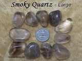 Grief and Sadness Crystal Healing Set - Apache Tear, Rose Quartz, Smoky Quartz, Sodalite