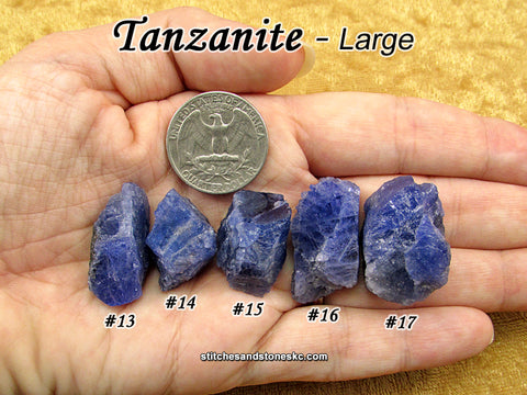 Tanzanite — multiple sizes available