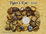 Tiger's Eye Golden tumbled stone — multiple sizes available