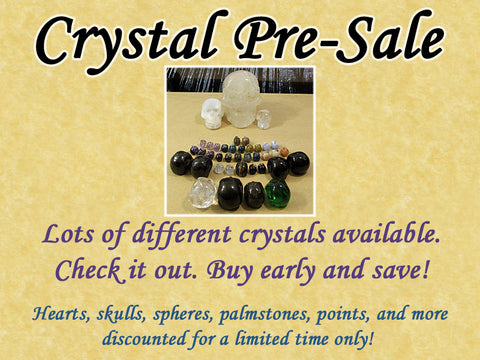 Crystal Pre-Sale — SKULLS — Grab Them Early and Save!