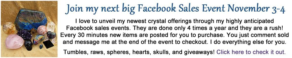 Jen's Crystal Sales Event on Facebook