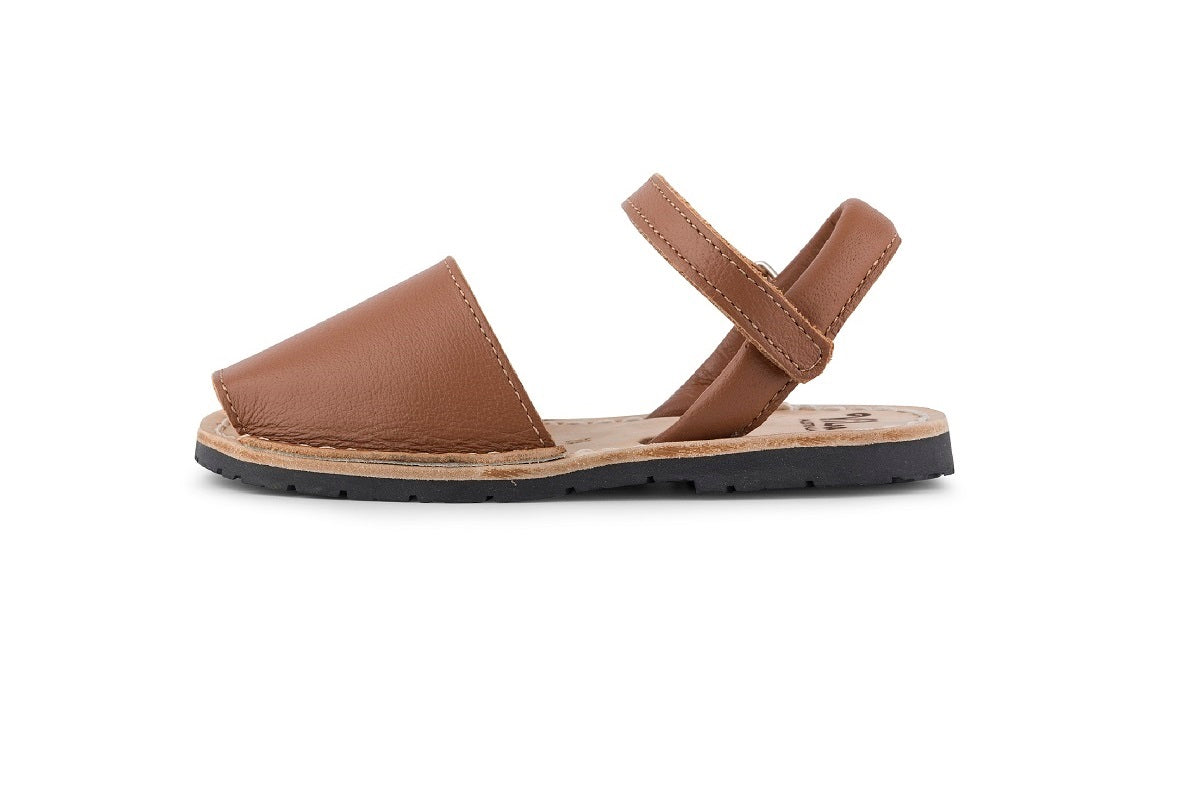 hot sale online b7e04 58d40 Vila tan leather sandal ...