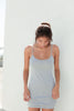 Everyday Mini dress - Heather Grey
