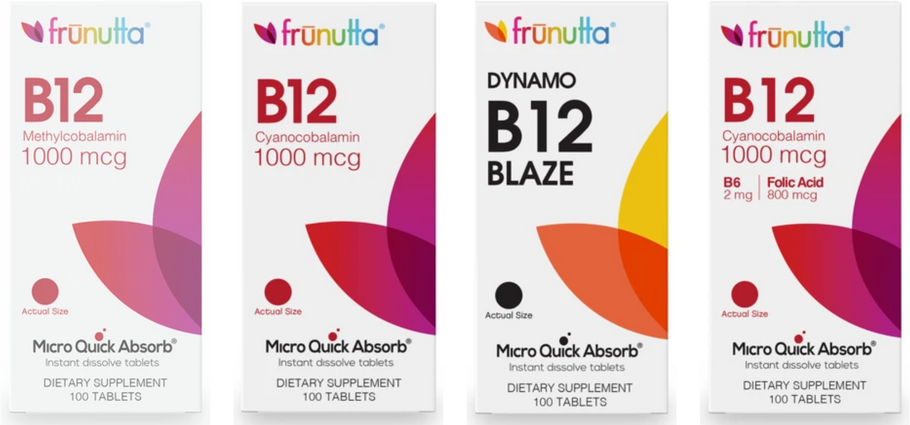 WHICH B12 IS BEST FOR YOUR NEEDS?