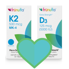 Frunutta: Why You Should Be Taking Vitamins D3 & K2 Together!