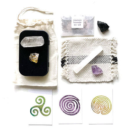 earthing kit on a white background