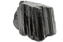 Small chunk of black tourmaline for the gravesco pottery and flowering moon earthing kit