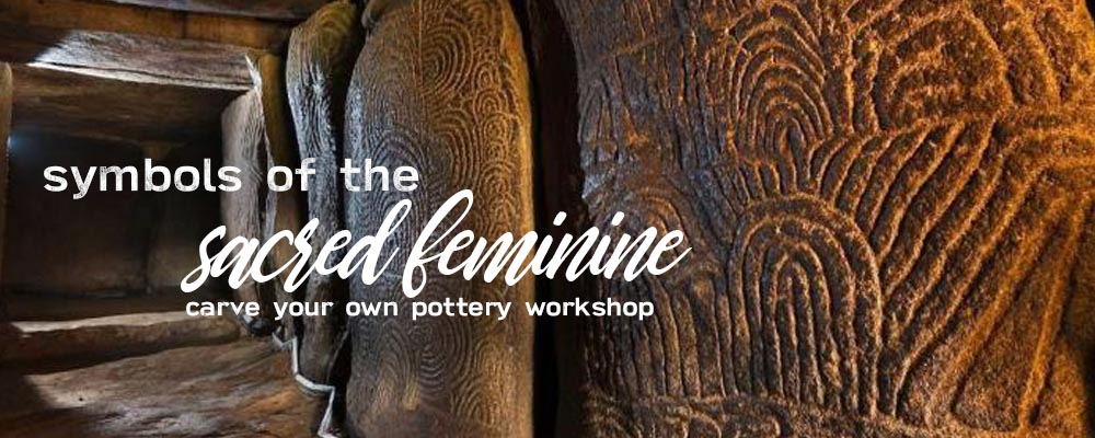 Symbols of the sacred feminine workshop with Deb Swingholm of Flowering Moon