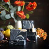 Black Forest Cold Process Soap with Activated Charcoal Soap Gravesco Pottery