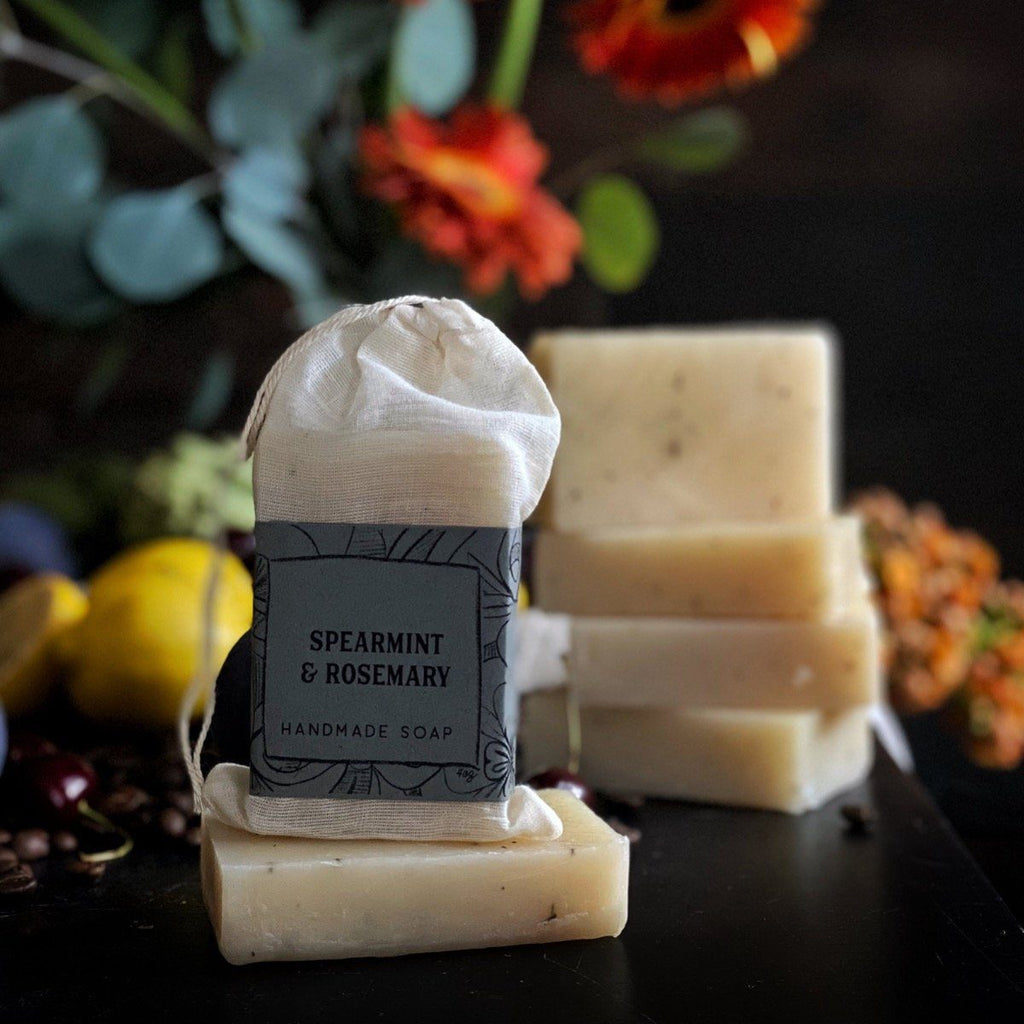 Spearmint + Rosemary Cold Process Soap Soap Gravesco Pottery