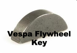 Vespa Woodruff Key for Flywheel - 87060000 - 000267 - 000103