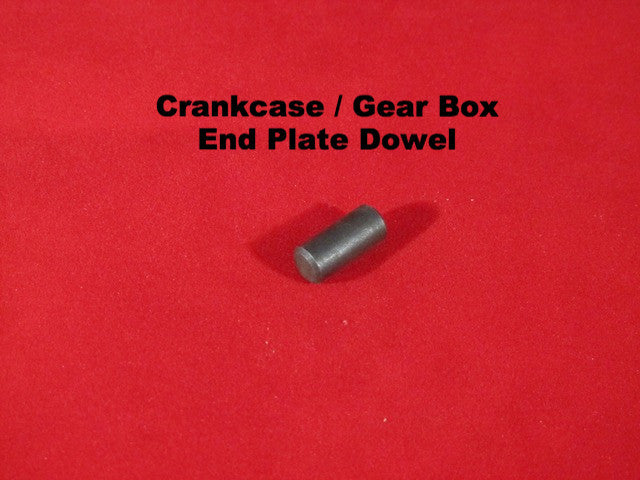 Lambretta Crankcase and Gear Box End Plate Dowel - 19010008