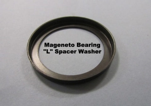 Lambretta L Shaped Spacer Washer for Magneto Bearing  19012038 8002100