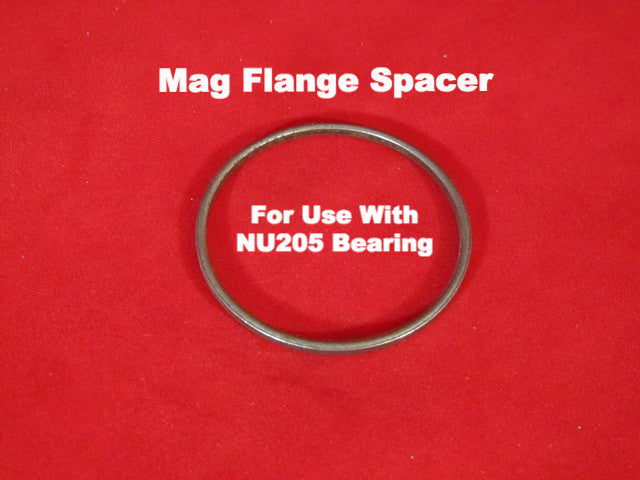 Lambretta Magneto Flange Spacer Washer for NU205 Bearing - 19012037