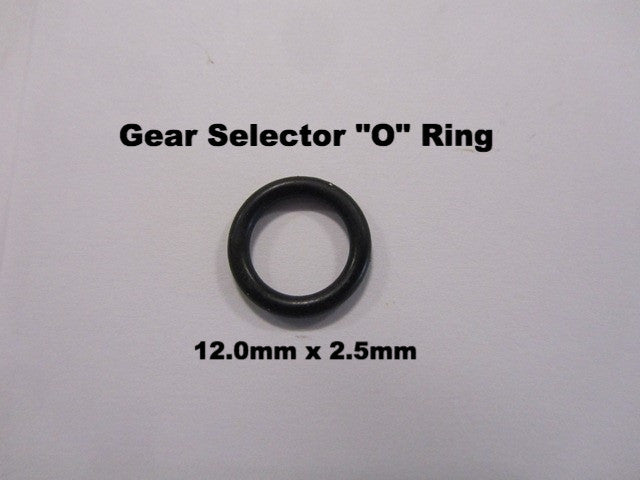 Lambretta Gear Selector Rod O Ring 12 x 2.5mm - 19031013