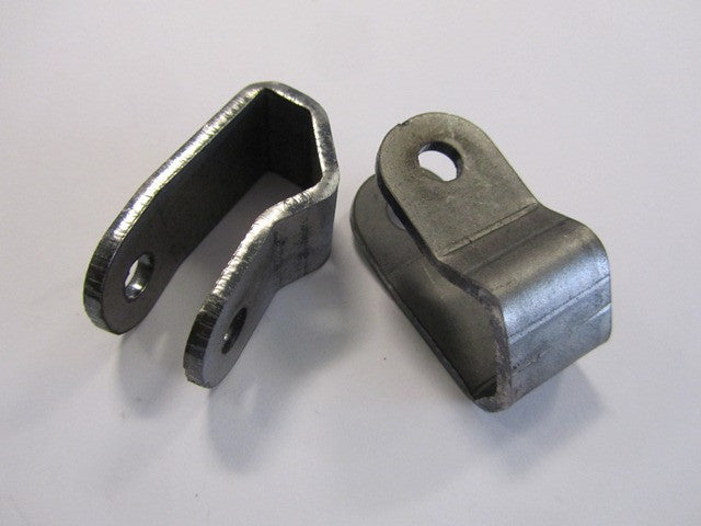 Lambretta fork damper brackets - weld on top of fork (1 pair) - Scootopia
