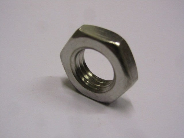 Lambretta Front Hub Half Nut in Stainless Steel  82118015