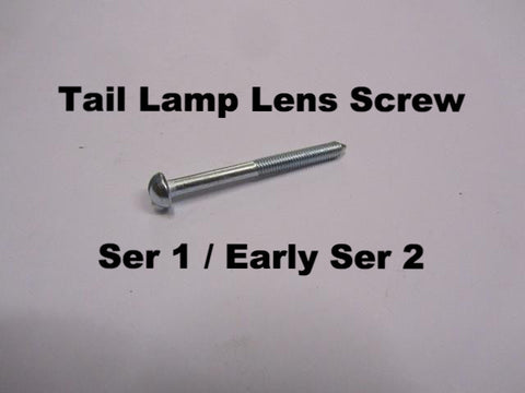 Lambretta Tail Lamp Lens Screw for series 1 and early series 2