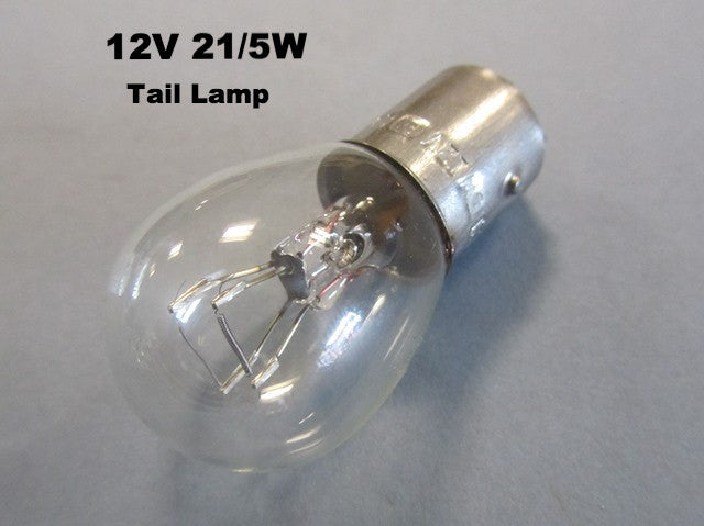 Lambretta and Vespa 12v 21/5w Stop and Tail Lamp Bulb