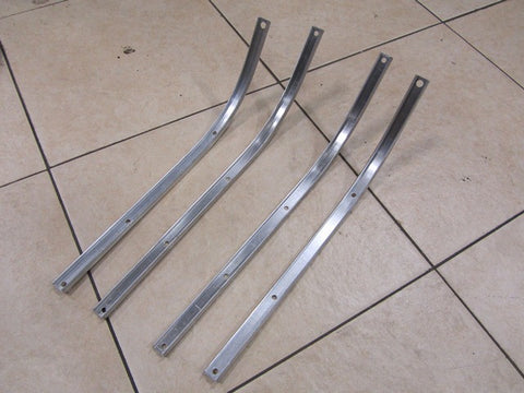 Lambretta Alloy Floor Channels for Series 3 and DL GP