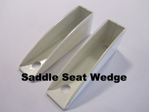 Lambretta Single Rear Saddle Seat Wedge (1 pair) single saddle seat wedge (1 pair)
