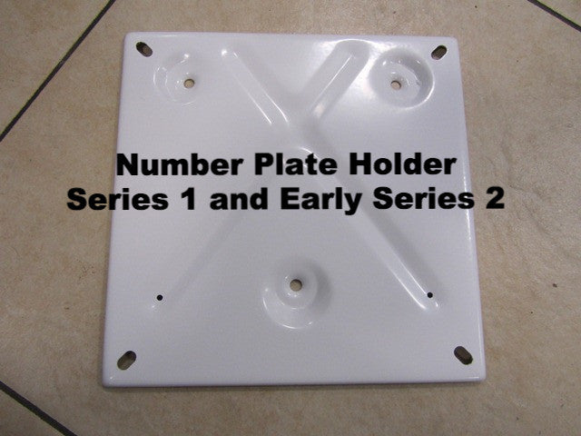 Lambretta Number Plate Holder for Series 1 and Early Series 2