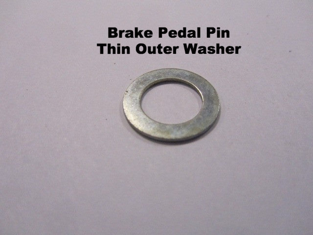 Lambretta outer brake pedal thin washer - 83010012