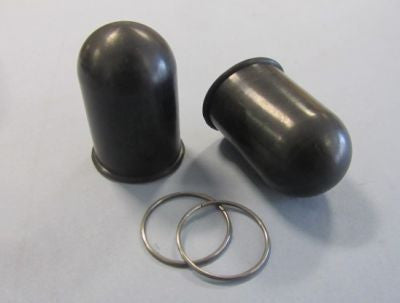 Lambretta Side Panel Sring Rubber Cover and Clip Set  15055046