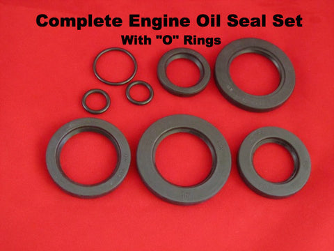 Lambretta oil seal set complete with o rings for entire engine - ROLF