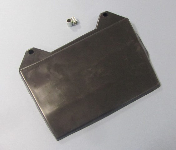 Lambretta rear mudflap and spacers in black  19990002