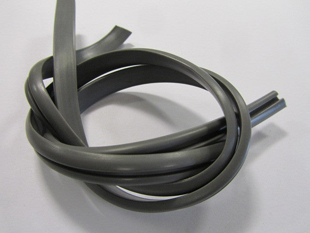 Lambretta Horn Cast Side Rubber Gaskets for Series 3 Grey  1 pair