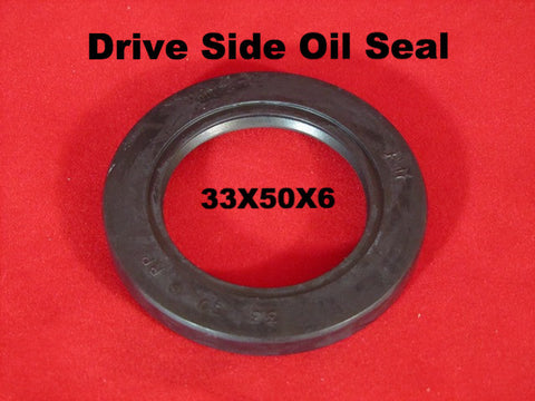 Lambretta oil seal 33x50x6 drive side - ROLF
