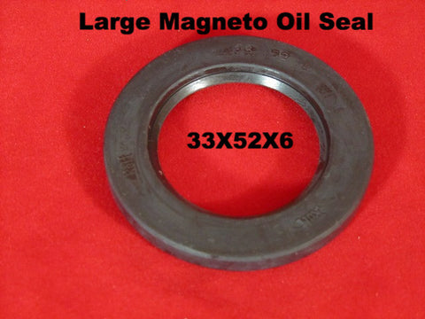 Lambretta oil seal 33x52x6 large magneto inner oil seal - ROLF