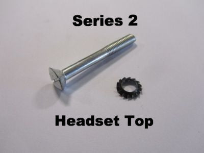 Lambretta headset top screw with washer  - 71450548 series 2 (each) - Scootopia