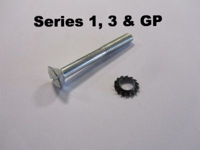 Lambretta headset top screw with washer - 71450545 series 1, 3 & GP (each) - Scootopia