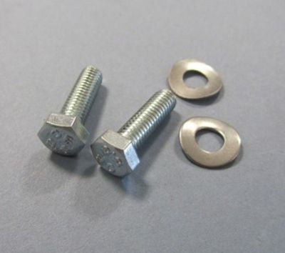Lambretta horncast to mudguard fixing bolts & washers - series 3 & GP - Scootopia
