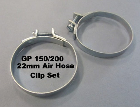 Lambretta Air Hose Clip Set for GP150 / 200