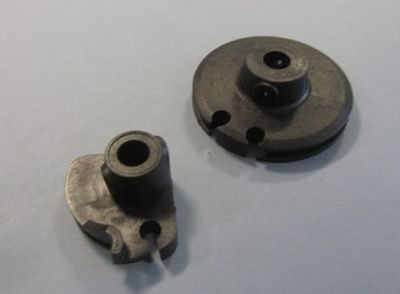 Lambretta late series 3 throttle & gear roller set (as original)